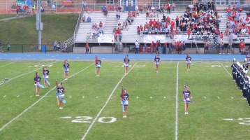 Blue Out Football Game, Benefit for Thelma Urban, Raider Band, Sports Stadium, Tamaqua, 9-4-2015 (119)