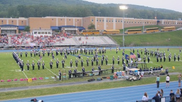 Blue Out Football Game, Benefit for Thelma Urban, Raider Band, Sports Stadium, Tamaqua, 9-4-2015 (130)