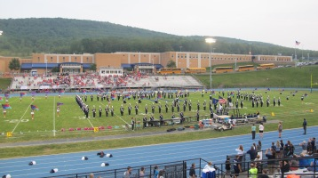 Blue Out Football Game, Benefit for Thelma Urban, Raider Band, Sports Stadium, Tamaqua, 9-4-2015 (131)