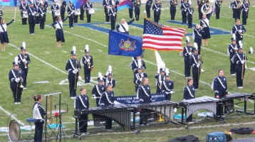 Blue Out Football Game, Benefit for Thelma Urban, Raider Band, Sports Stadium, Tamaqua, 9-4-2015 (133)