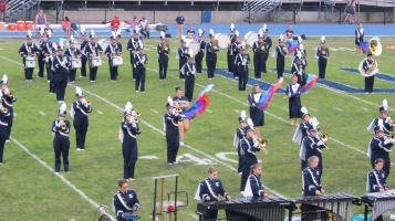 Blue Out Football Game, Benefit for Thelma Urban, Raider Band, Sports Stadium, Tamaqua, 9-4-2015 (140)
