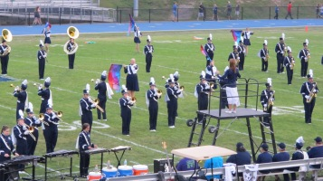 Blue Out Football Game, Benefit for Thelma Urban, Raider Band, Sports Stadium, Tamaqua, 9-4-2015 (142)
