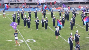 Blue Out Football Game, Benefit for Thelma Urban, Raider Band, Sports Stadium, Tamaqua, 9-4-2015 (150)