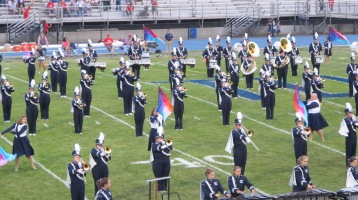 Blue Out Football Game, Benefit for Thelma Urban, Raider Band, Sports Stadium, Tamaqua, 9-4-2015 (151)