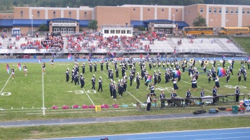 Blue Out Football Game, Benefit for Thelma Urban, Raider Band, Sports Stadium, Tamaqua, 9-4-2015 (156)