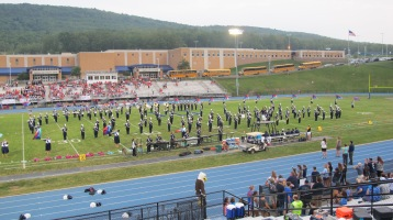 Blue Out Football Game, Benefit for Thelma Urban, Raider Band, Sports Stadium, Tamaqua, 9-4-2015 (158)