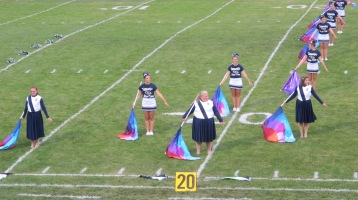 Blue Out Football Game, Benefit for Thelma Urban, Raider Band, Sports Stadium, Tamaqua, 9-4-2015 (164)