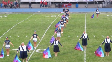 Blue Out Football Game, Benefit for Thelma Urban, Raider Band, Sports Stadium, Tamaqua, 9-4-2015 (165)