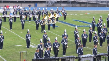 Blue Out Football Game, Benefit for Thelma Urban, Raider Band, Sports Stadium, Tamaqua, 9-4-2015 (167)