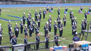 Blue Out Football Game, Benefit for Thelma Urban, Raider Band, Sports Stadium, Tamaqua, 9-4-2015 (168)