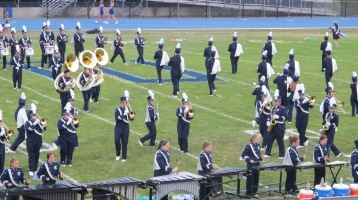 Blue Out Football Game, Benefit for Thelma Urban, Raider Band, Sports Stadium, Tamaqua, 9-4-2015 (172)