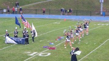 Blue Out Football Game, Benefit for Thelma Urban, Raider Band, Sports Stadium, Tamaqua, 9-4-2015 (174)