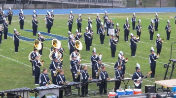 Blue Out Football Game, Benefit for Thelma Urban, Raider Band, Sports Stadium, Tamaqua, 9-4-2015 (181)