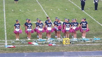 Blue Out Football Game, Benefit for Thelma Urban, Raider Band, Sports Stadium, Tamaqua, 9-4-2015 (184)