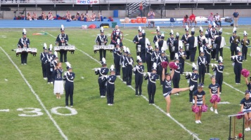 Blue Out Football Game, Benefit for Thelma Urban, Raider Band, Sports Stadium, Tamaqua, 9-4-2015 (187)