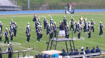 Blue Out Football Game, Benefit for Thelma Urban, Raider Band, Sports Stadium, Tamaqua, 9-4-2015 (188)