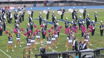 Blue Out Football Game, Benefit for Thelma Urban, Raider Band, Sports Stadium, Tamaqua, 9-4-2015 (189)