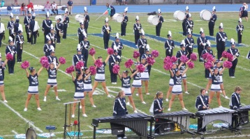 Blue Out Football Game, Benefit for Thelma Urban, Raider Band, Sports Stadium, Tamaqua, 9-4-2015 (190)