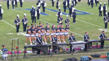 Blue Out Football Game, Benefit for Thelma Urban, Raider Band, Sports Stadium, Tamaqua, 9-4-2015 (191)