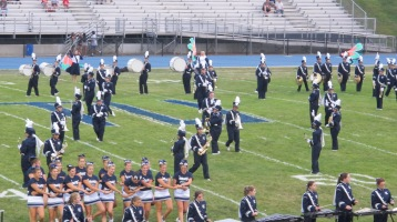 Blue Out Football Game, Benefit for Thelma Urban, Raider Band, Sports Stadium, Tamaqua, 9-4-2015 (194)