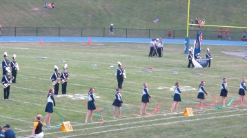 Blue Out Football Game, Benefit for Thelma Urban, Raider Band, Sports Stadium, Tamaqua, 9-4-2015 (196)