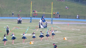 Blue Out Football Game, Benefit for Thelma Urban, Raider Band, Sports Stadium, Tamaqua, 9-4-2015 (197)