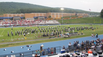 Blue Out Football Game, Benefit for Thelma Urban, Raider Band, Sports Stadium, Tamaqua, 9-4-2015 (202)