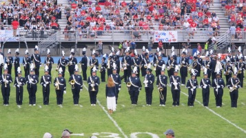 Blue Out Football Game, Benefit for Thelma Urban, Raider Band, Sports Stadium, Tamaqua, 9-4-2015 (207)