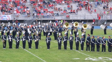 Blue Out Football Game, Benefit for Thelma Urban, Raider Band, Sports Stadium, Tamaqua, 9-4-2015 (209)