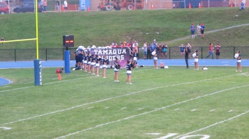 Blue Out Football Game, Benefit for Thelma Urban, Raider Band, Sports Stadium, Tamaqua, 9-4-2015 (214)