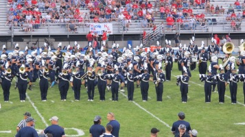 Blue Out Football Game, Benefit for Thelma Urban, Raider Band, Sports Stadium, Tamaqua, 9-4-2015 (218)