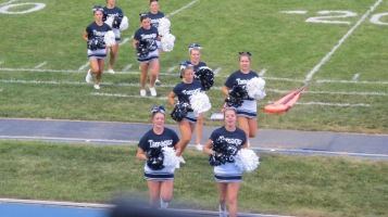 Blue Out Football Game, Benefit for Thelma Urban, Raider Band, Sports Stadium, Tamaqua, 9-4-2015 (220)