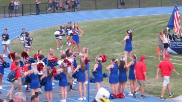 Blue Out Football Game, Benefit for Thelma Urban, Raider Band, Sports Stadium, Tamaqua, 9-4-2015 (223)