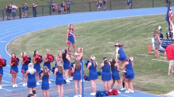 Blue Out Football Game, Benefit for Thelma Urban, Raider Band, Sports Stadium, Tamaqua, 9-4-2015 (224)