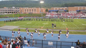 Blue Out Football Game, Benefit for Thelma Urban, Raider Band, Sports Stadium, Tamaqua, 9-4-2015 (231)