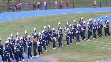 Blue Out Football Game, Benefit for Thelma Urban, Raider Band, Sports Stadium, Tamaqua, 9-4-2015 (236)