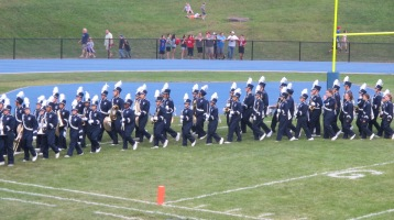 Blue Out Football Game, Benefit for Thelma Urban, Raider Band, Sports Stadium, Tamaqua, 9-4-2015 (238)
