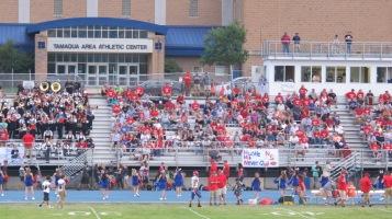 Blue Out Football Game, Benefit for Thelma Urban, Raider Band, Sports Stadium, Tamaqua, 9-4-2015 (239)