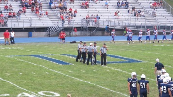 Blue Out Football Game, Benefit for Thelma Urban, Raider Band, Sports Stadium, Tamaqua, 9-4-2015 (241)