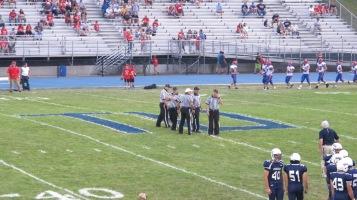 Blue Out Football Game, Benefit for Thelma Urban, Raider Band, Sports Stadium, Tamaqua, 9-4-2015 (241)