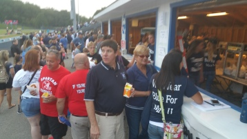 Blue Out Football Game, Benefit for Thelma Urban, Raider Band, Sports Stadium, Tamaqua, 9-4-2015 (25)