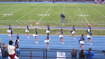 Blue Out Football Game, Benefit for Thelma Urban, Raider Band, Sports Stadium, Tamaqua, 9-4-2015 (250)