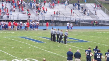 Blue Out Football Game, Benefit for Thelma Urban, Raider Band, Sports Stadium, Tamaqua, 9-4-2015 (251)