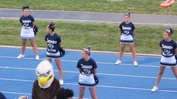 Blue Out Football Game, Benefit for Thelma Urban, Raider Band, Sports Stadium, Tamaqua, 9-4-2015 (260)