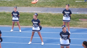 Blue Out Football Game, Benefit for Thelma Urban, Raider Band, Sports Stadium, Tamaqua, 9-4-2015 (261)