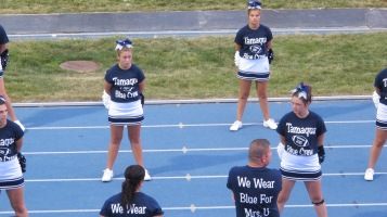 Blue Out Football Game, Benefit for Thelma Urban, Raider Band, Sports Stadium, Tamaqua, 9-4-2015 (262)