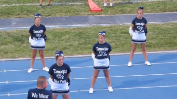 Blue Out Football Game, Benefit for Thelma Urban, Raider Band, Sports Stadium, Tamaqua, 9-4-2015 (263)