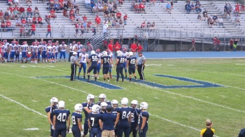 Blue Out Football Game, Benefit for Thelma Urban, Raider Band, Sports Stadium, Tamaqua, 9-4-2015 (266)