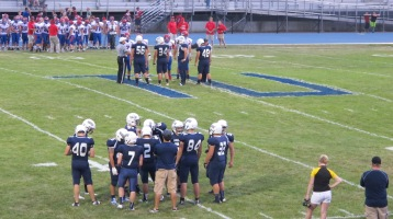 Blue Out Football Game, Benefit for Thelma Urban, Raider Band, Sports Stadium, Tamaqua, 9-4-2015 (267)