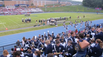 Blue Out Football Game, Benefit for Thelma Urban, Raider Band, Sports Stadium, Tamaqua, 9-4-2015 (272)